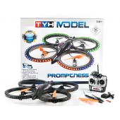 China 2.4G 6CH RC Propel Quadcopter with 6-AXIS GYRO +2.0MP HD Camera & Light SD00326685 factory