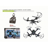 China 2.4GHz K200C-HW7 WIFI RC Drone With 2.0MP Camera Altitude Hold Headless Mode factory