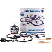 China 2.4Ghz 6 CH Remote Control  Quad copter with 6 AXIS GYRO & Light factory