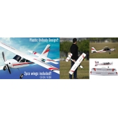 Chine 2.4Ghz Brushless RC Model Airplane (3CH 4CH & deux ailes inclus) SD00323587 usine