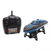 China 2016 New arriving! RC Boat 2.4GHz 4 Channel High Speed Racing Remote Control Boat with LCD Screen For Sale factory