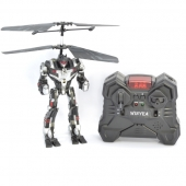 2CH Plastic  RC Robot with GYRO & Light & Voice  SD00304265