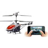 China 3ch Metel  with Gyro Wifi Iphone Controlled Helicopter factory