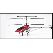 China 44cm Medium 3.5 rc helicopter with gyro, alloy body, stable flying in hot sale factory
