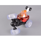 Fabbrica della Cina 4CH RC Stunt Con Bubble Blowing & Light Colorful