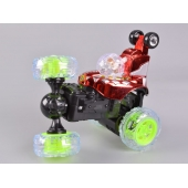 China 4CH RC Stunt Car With Colorful Light factory