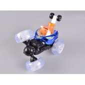China 4CH RC Stunt Car With Shooting BB & Colorful Light factory