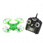 China 4ch 6-axis 0.3MP HD Camera Headless Mode RC Mini Drone 30M factory