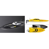 China Electric 2.4G  2 CH Brushless  Remote Control Boat with waterproof  SD00315075 factory