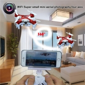 Fabbrica della Cina HOT SALE !1508 2.4G 4CH 6-Axis WIFI Mini RC Quadcopter With 0.3MP Camera 3D Flip Nano Drone