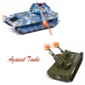 China Infrared Controlled RC Against Tanks Military Model Toys  SD00301118 factory
