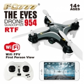 China Mini RC Quadcopter Drone Wi-Fi FPV Real Time Transmission with 0.3MP Camera Black factory