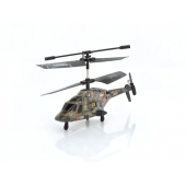 China Mini infrared control military helicopter with gyro factory