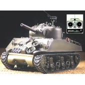 China New 2.4G 1/16 Radio Control Heng Long M4A3 Sherman Military Rc Tank With Smoking SD00305453 factory