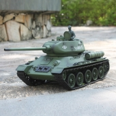 China New 2.4G 1/16 Radio Control Heng Long T-34  Military Rc Tank With Smoking SD00308972 factory
