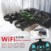China New Arriving!JXD 515W 2.4G WIFI Mini RC Quadcopter Drone With 0.3MP Camera Altitude Hold For Sale factory