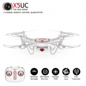 China New Syma X5UC RC Quadcopter With Camera HD 720P 2.4G 4CH 6-Axis Gyro Height Hold VS X5C factory