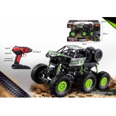China Singda Toys 2019 New arrived 1:16 2.4 Ghz 6wheels 4WD RC Rock Climbing Truck 5KM / H factory