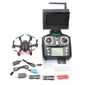 Chine WLtoys G 5.8G 4CH 6 axes Wiith 2.0MP caméra HD FPV RC Hexacopter usine