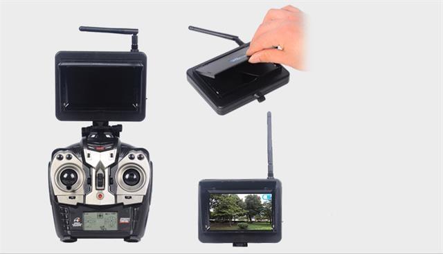 Grosse 58Ghz Rc FPV Drohne Quadcopter Mit 20 Megapixel Kamera