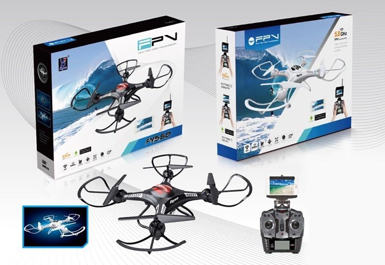 FPV hd transmitter quadcopter 2 4G wifi remote control drone