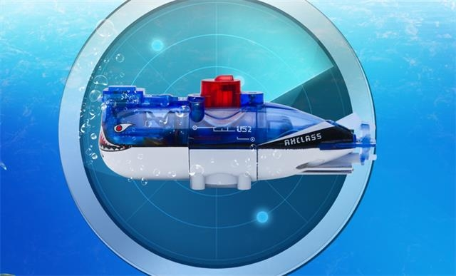 Mini RC Submarine Blue RC Shark Toy For Sale SD00324410 ...