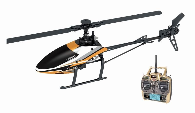 Newest 6 Channels Rc Helicopter With Brushless Motor 1912